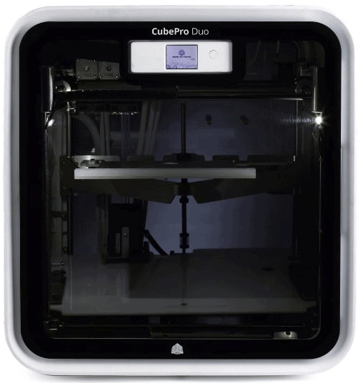 cubepro duo 3d printer review