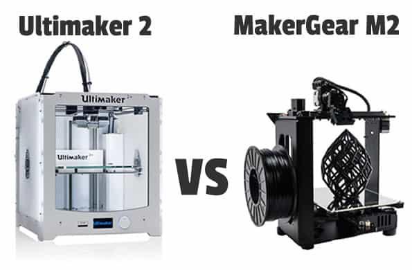 Ultimaker 2 vs MakerGear M2