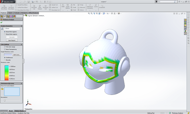 solidworks 3d printing program