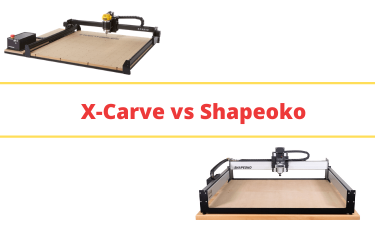 X-Carve vs Shapeoko