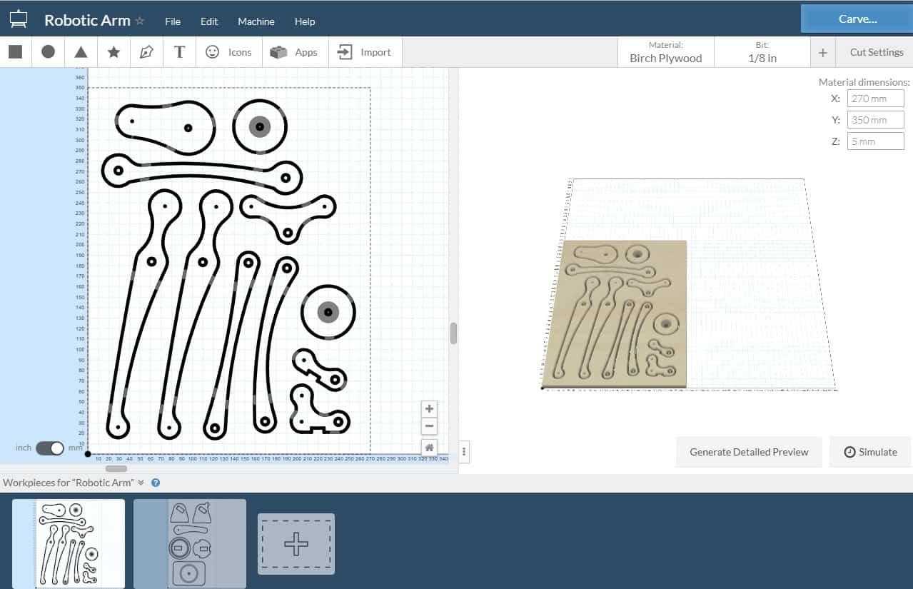 easel x carve software
