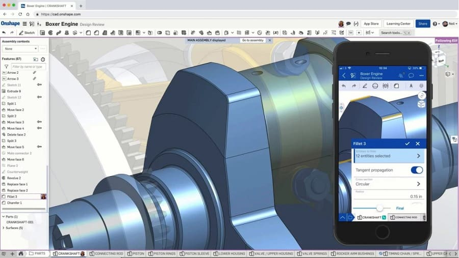 Onshape Features
