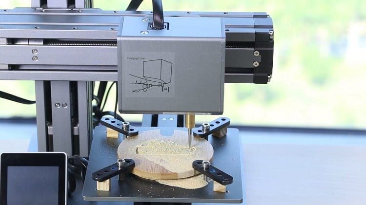 snapmaker cnc carving