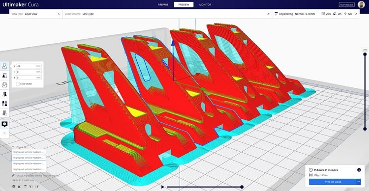 ultimaker cura features