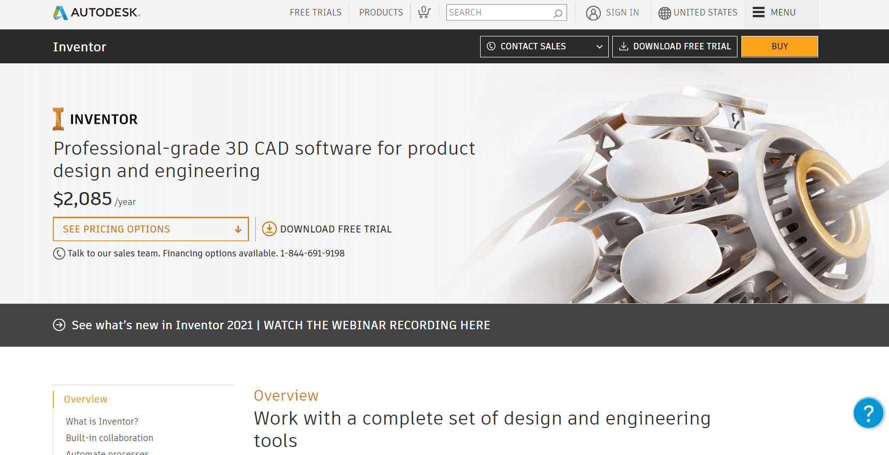 What is Autodesk Inventor