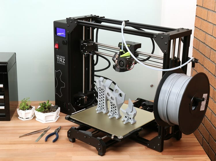 lulzbot taz workhorse features