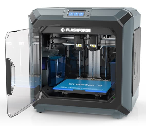 flashforge creator 3 review