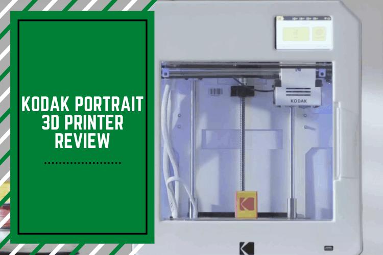 kodak portrait 3d printer review