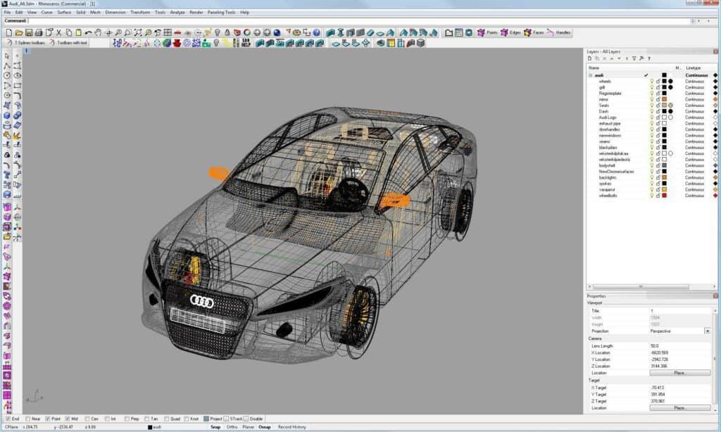 Rhino 3D moddeling