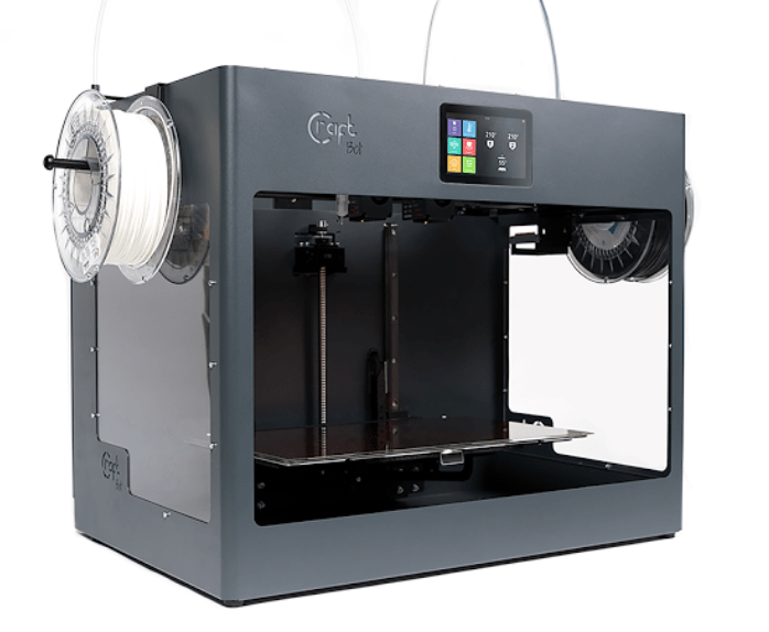 CraftBot Flow Grey IDEX 3D Printer | Matter Hackers