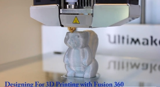 Designing for 3D Printing with Fusion 360 Tutorial | Udemy